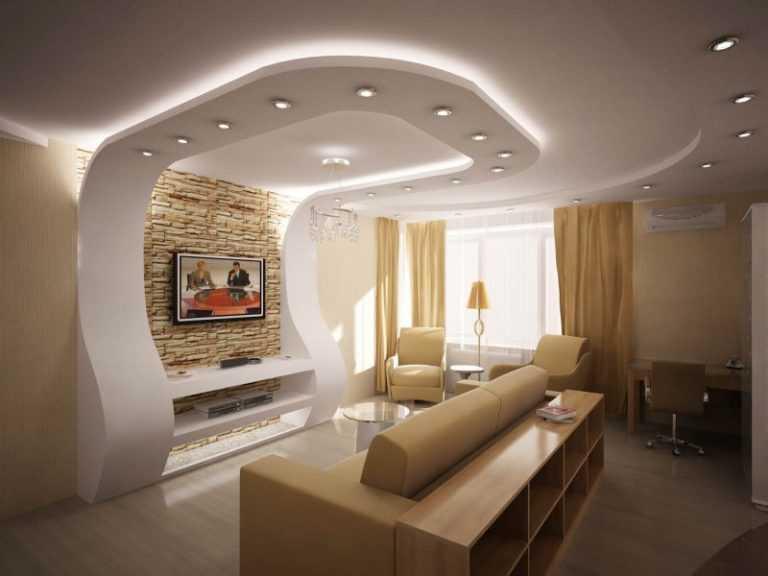 пусть пройдет фото гипсокартоновых потолков совмещенных комнат кинг регулярно
