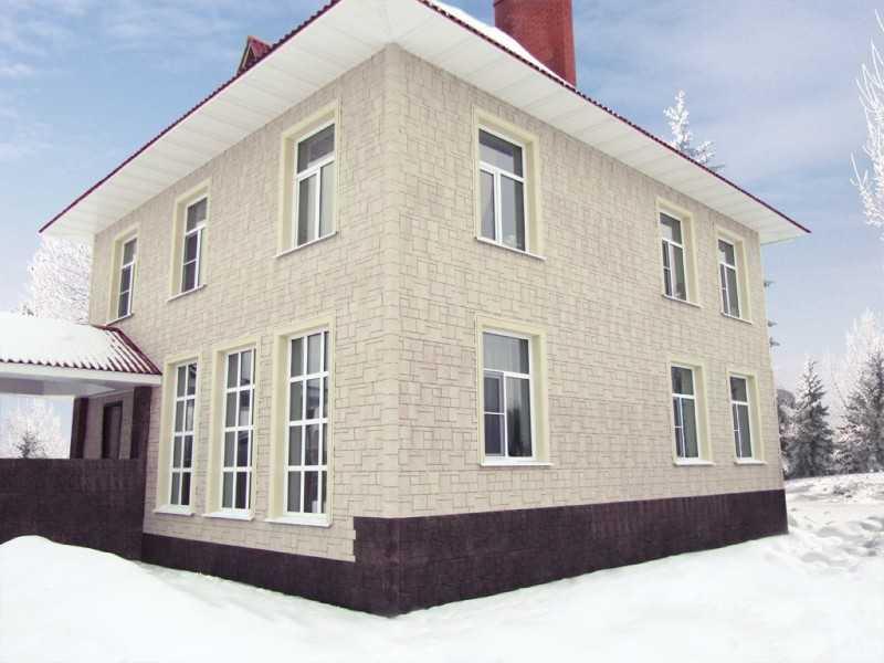Идеи отделки фасада дома