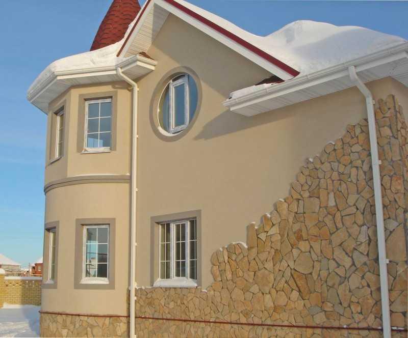 фото домов с фактурной штукатуркой доводы