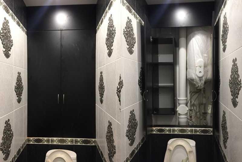 Декоративные двери для шкафа в туалете